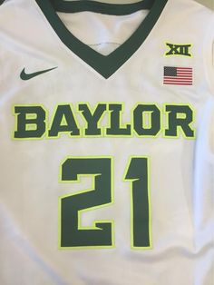 Baylor men's basketball new Nike home uniforms! #SicEm