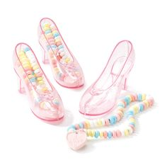 Candy Filled Princess Shoe Party Supplies Canada - Open A Party Pink Princess Party, Princess Party Favors, Princess Shoes, Disney Frozen Birthday, Cinderella Birthday, Princess Birthday, Girls Birthday Party Themes, Birthday Ideas, 2nd Birthday