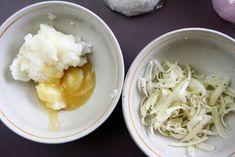Kokosowy balsam myjący do ciała- DIY Spaghetti, Soup, Ethnic Recipes, Beauty Products, Diy, Cosmetics, Bricolage, Do It Yourself, Soups