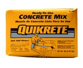 QUIKRETE High Strength Concrete Mix at Lowe's. Properly graded sand and gravel blended with portland cement for use in general concrete applications. Use for: sidewalks, driveways, setting posts, Pouring Concrete Slab, Concrete Bowl, Concrete Table, Concrete Cement, Diy Concrete Planters, Concrete Projects, Cement Garden, Cement Pots, High Strength Concrete