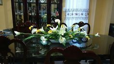 Shelves, Table Decorations, Flowers, Top, Furniture, Home Decor, Shelving, Decoration Home, Room Decor