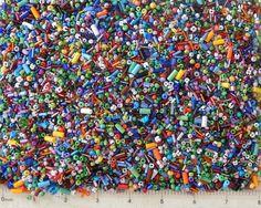 1 Lb Pound Bulk Tiny Seed Beads Assorted Czech Glass Trade Craft Mix 40,000 Lot #Jablonex #Seed