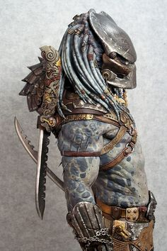 Predator Costumes, Models, Kits and Collectibles Alien Vs Predator, Predator Cosplay, Predator Costume, Predator Helmet, Predator Alien, Arte Alien, Alien Art, Giger Alien, Dragons