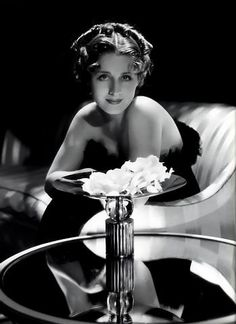 Norma  Photographer ~ George Hurrell. Shearer's films explored women's feeling about love & sex with an honesty that would be considered frank by modern standards. IL