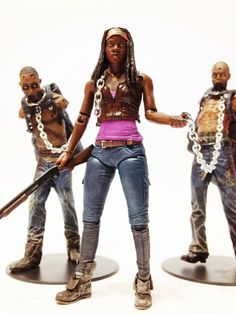 Combo's Action Figure Collection: Michonne: The Walking Dead (McFarlane Toys)