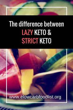 "Diet Challenge The difference between ""lazy keto"" and ""strict keto"" Ketogenic Recipes, Ketogenic Diet, Diet Recipes, Diabetic Recipes, Diet Meals, Diet Foods, Healthy Recipes, Paleo Vs Keto, Low Carb Keto"