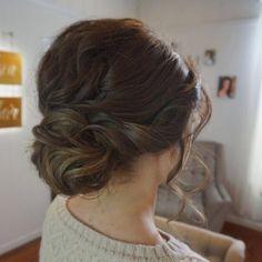 Bridal Hair / Bride Updo / Twisted / Braided / Wedding Hair / Side Style / Dallas Grapevine Ft Worth Wedding / Texas Wedding / Stephanie Nelson Makeup & Hair / #snmakeuphair