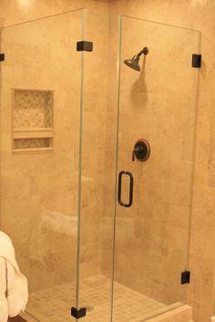 Master Bath - Small Shower Idea - Frameless Shower