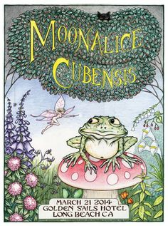 MoonAlice Cubensis Poster Art