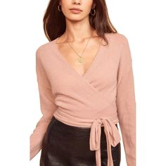 Reformation Cashmere Wrap Sweater-4 Cashmere Wrap, Neck Wrap, Wrap Sweater, Winter Looks, Long Tops, Winter Wardrobe, Knitwear, Reformation, Sweaters