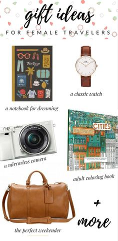 Holiday Gift Guide for Female Travelers via @thshegoesagain