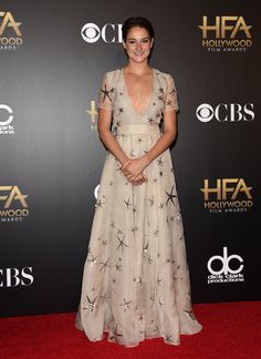 Pin for Later: All Your Favorite Big-Screen Stars Step Out For the Hollywood Film Awards Shailene Woodley