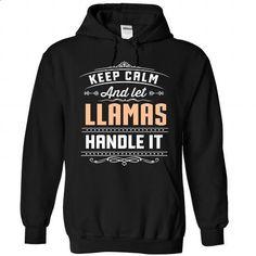 2 Keep Calm LLAMAS - #hoodie dress #disney sweater. I WANT THIS => https://www.sunfrog.com/Camping/LLAMAS-Black-89167636-Hoodie.html?68278