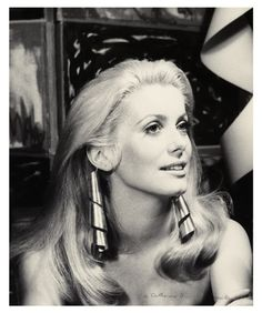 Man Ray - Catherine Deneuve, 1968