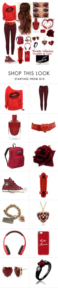 Daughter of Cupid by randomgirl1904 on Polyvore featuring River Island, Converse, JanSport, Betsey Johnson, Casetify, Moschino, Vivitar and Once Upon a Time