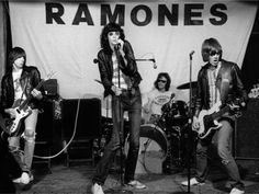 The Ramones - punk rock band from New York, 1974-1996