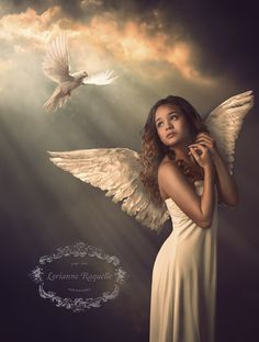 Heaven Sent by Lorianne Raquelle - Photo 95975323 / Angel Images, Angel Pictures, Beautiful Angels Pictures, Heaven Sent, Angels In Heaven, Angels Among Us, Angels And Demons, Angel Artwork, Angels Beauty