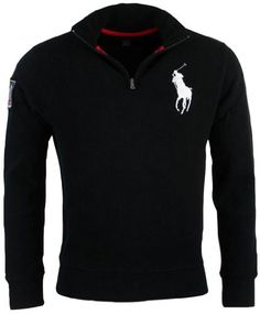 1b0da8df Polo Ralph Lauren Mens French Rib Big Pony Logo Pullover - XXL - Red at Amazon  Men's Clothing store: