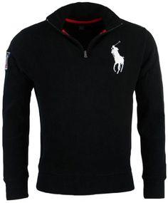 Polo Ralph Lauren mens french rib big pony logo pullover.