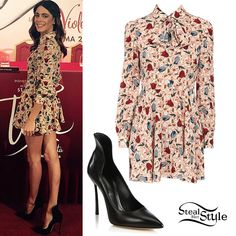 Martina Stoessel: Floral Dress
