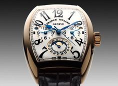 Love the feeling of this watch when i wear mine!! Franck Muller Geneve