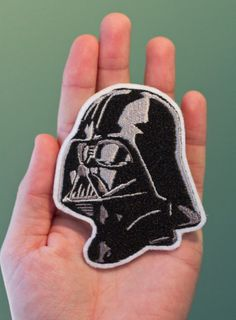 Darth Vader Star Wars Embroidered Iron-on Patch - Star Wars Jewelry - Fashionable Star Wars Jewelry - Cute Patches, Pin And Patches, Sew On Patches, Iron On Patches, Darth Vader Star Wars, Nyan Cat, Disfraz Star Wars, Jeans Petite, Star Wars Jewelry