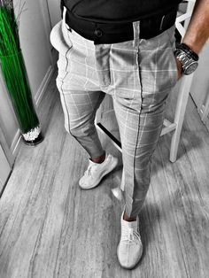 African Men Fashion, Best Mens Fashion, Mens Fashion Suits, Fashion Pants, Mens Fall Street Style, Slim Fit Dress Pants, Formal Men Outfit, Style Outfits, Herren Outfit