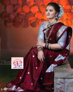 Checkout this latest Sarees Product Name: *Shree silk Brown silver zari Pethni Design saree* Saree Fabric: Cotton Silk Blouse: Separate Blouse Piece Blouse Fabric: Cotton Silk Pattern: Zari Woven Blouse Pattern: Same as Border Multipack: Single Sizes:  Free Size (Saree Length Size: 5.5 m, Blouse Length Size: 0.8 m)  Country of Origin: India Easy Returns Available In Case Of Any Issue   Catalog Rating: ★4.1 (641)  Catalog Name: Alisha Graceful Sarees CatalogID_4073375 C74-SC1004 Code: 677-19705410-7902