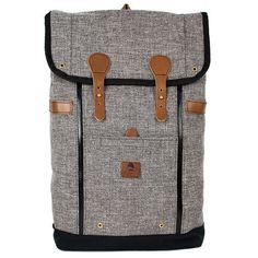 Babylon Backpack Slate Burlap