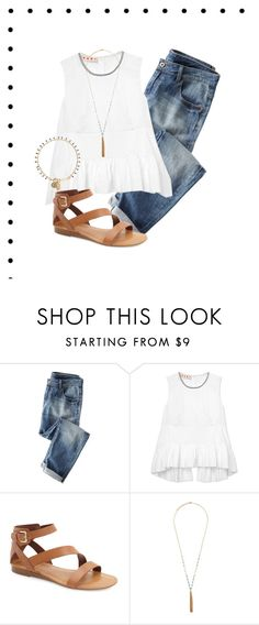 """""""Lunch date"""" by morganmcghee on Polyvore featuring Wrap, Marni, Franco Sarto, Forever 21 and Isabel Marant"""