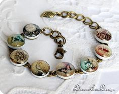 Bracelet with butterflies Gift idea for her by SunDevonaDesign, $26.00