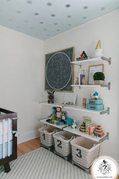 Oh my stars! Ceiling is perfect for Chloe's room makeover.