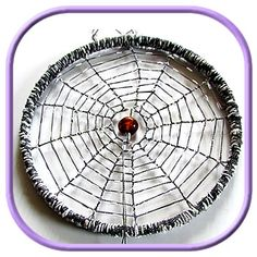 Spider Web Dreamcatcher Tutorial