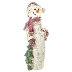 Tall Snowman Figurine with Candy Cane Diy Projects Videos, Fun Projects, Hobby Lobby Coupon, Christmas Home, Xmas, Build A Snowman, Christmas Decorations, Christmas Ornaments, Print Coupons