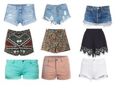 """""""Shorts For Girls/Teens/Women"""" by sharonb331 ❤ liked on Polyvore featuring rag & bone/JEAN, Glamorous, Chicnova Fashion, Chloé and TWINTIP"""