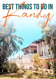 Looking for some great things to do in Kandy? I have made a list of the best things to do in Kandy Sri Lanka. From the temple of the holy tooth relic to the botanic garden of Kandy or the train ride to Ella - it is all there! Sri Lanka | Sri Lanka travel | Asia | Kandy | Ella | Asia travel | Temples | Sri Lanka holiday | Sri Lanka itinerary | Travel Asia