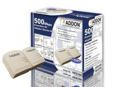 HP5100 500Mbps Powerline AV Adapter Starter Kit