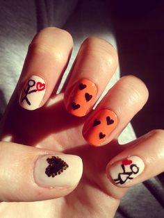Valentine´s day nail art