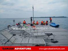 Lokasi dermaga untuk aktifitas snorkling di pulau putri