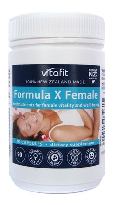 Vitafit Formula X Female 90 Capsules from Superior Supplements Formula X, Female, Health, Food, Health Care, Essen, Meals, Yemek, Eten