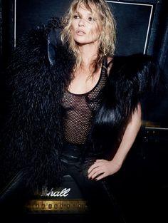 """Kate Moss in """"Her Infinite Variety""""; byMario TestinoforVogue UK,December 2014"""