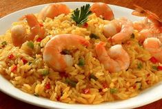 Fried Rice, Cooking Time, Seafood Recipes, Risotto, Shrimp, Ethnic Recipes, Recipes With Rice, Salads, Breakfast
