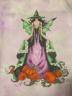 green luna cross stitch conversion nora corbett