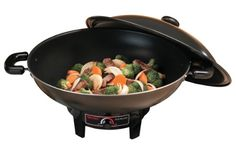 #Aroma #AEW-305 6.5-quart Electric #Wok   really love it!   http://amzn.to/HI8R2g