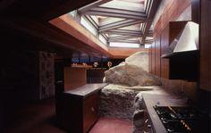 Kitchen, Massaro House -- Frank Lloyd Wright