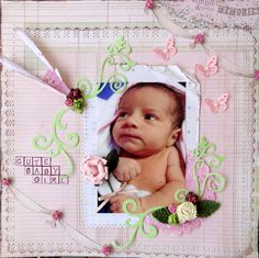 CUTE BABY GIRL - Scrapbook.com