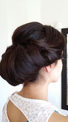 A sophisticated and breathtaking updo.