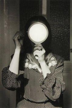 """regardintemporel:  André Gelpke - Christine au miroir, 1976  """