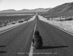 Along Mojave Desert – on the way to Death Valley National Park  #DeathValley #thingstodoinUSA #USANationalParks