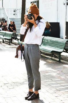 カメラ女子。